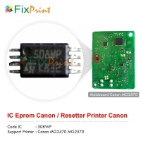 Resetter Canon mg2570, Cara Reset Canon mg2570