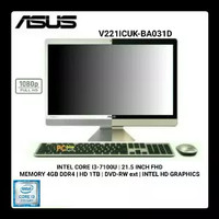 Pc All In One Asus V2201AUK BA003F Layar 21,5 Full HD - NEW