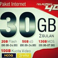 Paket Internet Simpati 30GB