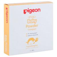 Pigeon Baby Bedak Bayi Padat ( Compact Powder ) - Untuk Kulit Sensitif