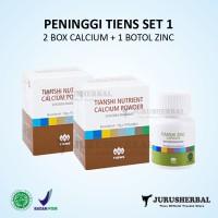 Set 1 Peninggi Badan TIENS Kalsium NCP + Zinc Original TERMURAH