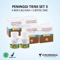 Set 3 Peninggi Badan TIENS Kalsium NCP + Zinc Original TERMURAH