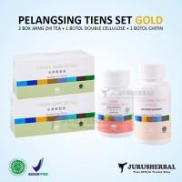 Pelangsing Badan TIENS Set GOLD Original TERMURAH