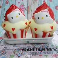 Squishy Jumbo Hello Kitty Cupcake