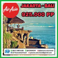 Tiket pesawat AirAsia Jakarta Bali fixed promo