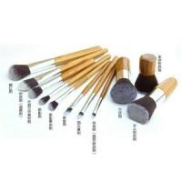 Kaboki Set Wooden Kuas Brush Sikat Make Up Bamboo Cantik Kecantikan