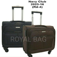 NAVY CLUB KOPER CABIN / KABIN RODA 4 TRAVEL BAG TROLLEY IMPORT 16 INCH