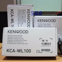 LIMITED Kenwood KCA WL100 Wi Fi Dongle Smartphone Mirrorlink mobil mo