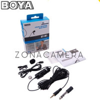 BOYA BY-M1 / M1 Lavalier Microphone Micro Cravate Clip-On DSLR/HP