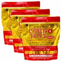 Japan Fine Collagen Hyaluron n coenzyme Q10 Refill 214g