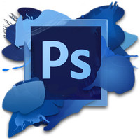 Template Adobe Photoshop Text effect