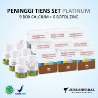 Set PLATINUM Peninggi Badan TIENS Kalsium NCP + Zinc Original TERMURAH