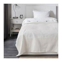 Ikea Indira ~ Penutup Tempat Tidur, Katun Putih 150x250cm   Bedspread