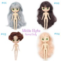 PO! Middie Blythe Factory Doll 1/8 size 20cm Normal body Good Quality
