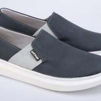 Sepatu Wanita Slip On Sneakers Casual Keren Branded - Cantiku SQ 011