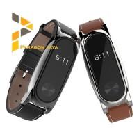 Strap Jam Tangan Xiaomi Mi band 2 bahan kulit Limited