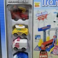 Mainan Anak Track Robocar Poli Transformable Robot 660-191 / 660-192
