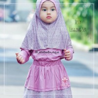 Baju Gamis Balita Cantik | Busana Muslim Anak | Jessy Legging Set