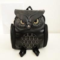 tas wanita emas fashion trend korea owl ransel big bang murmer gadis