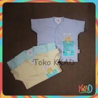 Pakaian/baju bayi lengan pendek newborn (baru lahir) libby