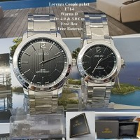Jam Tangan Couple Murah Lorenzo Couple paket E714