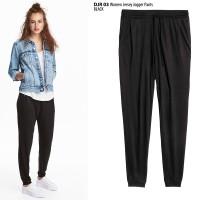 Jual Celana Panjang Jersey Jogger Pant Sisa Export Branded Bawahan Wanita Murah
