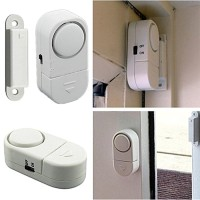 Alarm pintu jendela rumah anti maling sensor wireless