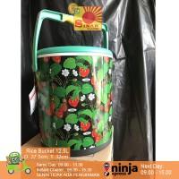 Rice Bucket 12.5L   Termos Nasi + FREE Centong Nasi