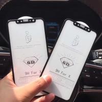6D Tempered Glass Film Iphone 7 7 6 6 8 plus X Screen 6D +++