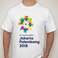 Kaos Asian Games 2018 New Logo