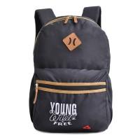 Tas Ransel Amooba Backpack Young & Free New A70030 - Hitam