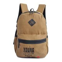 Tas Ransel Amooba Backpack Young & Free New A70030 - Krem