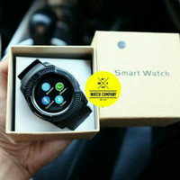 Best Seller Smartwatch V8 X8 Support SIM Card Rubber Strap Black