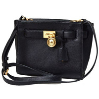 Tas Michael Kors Hamilton Traveller Messenger Black Original Crossbody