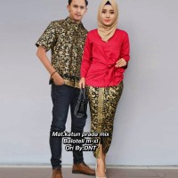 kebaya batik couple sarimbit murah modern