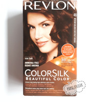 REVLON COLORSILK BEAUTIFUL COLOR 3D MEDIUM GOLDEN CHESTNUT BROWN