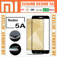Xiaomi redmi 5a redmi5a tempered glass color warna full cover layar hp