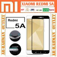 Xiaomi redmi 5a redmi5a tempered glass color warna full cover layar hp