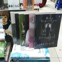 Novel RISA SARASWATI 1 PAKET 7 BUKU - WILLIAM, DANUR, HANS - D.L.L
