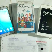 samsung galaxy J7 2016 second seken bekas, original
