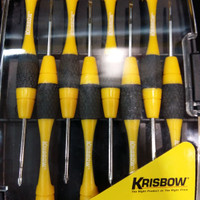 Obeng Precision Screwdriver Krisbow Set 8pc