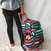 BEST PRICE Kipling Premium 7777 Backpack trolley/ ransel troli