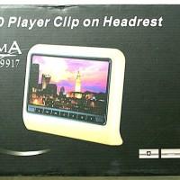 "HEADREST DVD + GAME CLIP ON ENIGMA 9917-9"" MURAH"