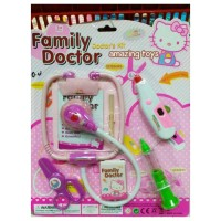 Jual Mainan Dokter Set My Family Doctor Hello Kitty Set lengkap Murah Murah