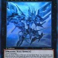Kartu Yugioh Number 107: Galaxy-Eyes Tachyon Dragon [Ghost Rare]