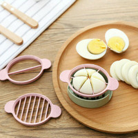 Pemotong Telur Rebus / 2 in 1 Egg Slicer / Egg Boiled Cutter