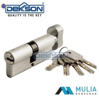 Cylinder Knob Dekkson CYL TC KK DL 60MM SN (Plus Anak Kunci Komputer)