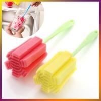 Tongkat Spon Sikat Pembersih / Cuci Botol, Dot dan Gelas