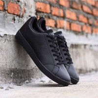 2158e7780 Sepatu Sneakers Adidas Neo Advantage Triple Black
