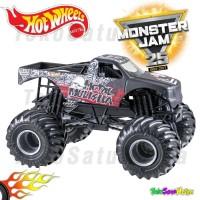 Hotwheels MONSTER JAM Team Flag - Metal Mulisha Hot Wheels Ori Mattel